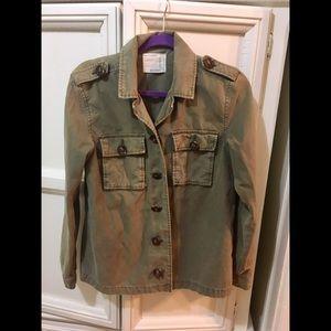 Life in Progress military jacket